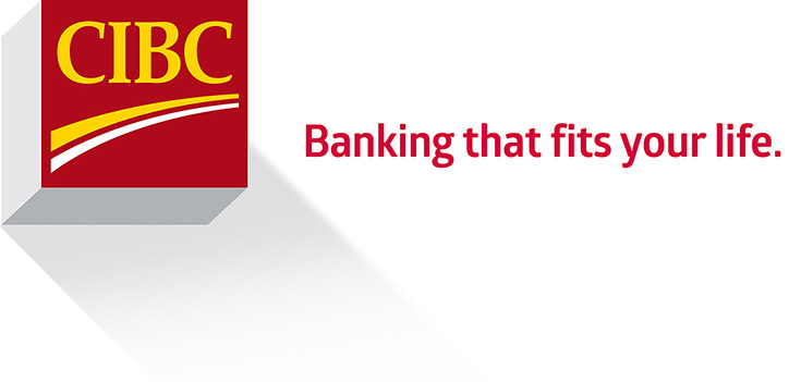 CIBC logo. Banking that fits your life.